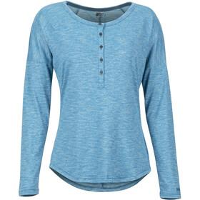 Marmot Jayne Naiset Pitkähihainen paita , sininen